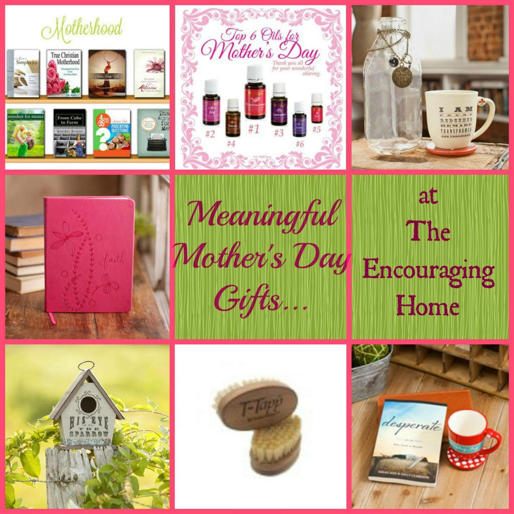 Meaningful Gifts for Mother's Day
