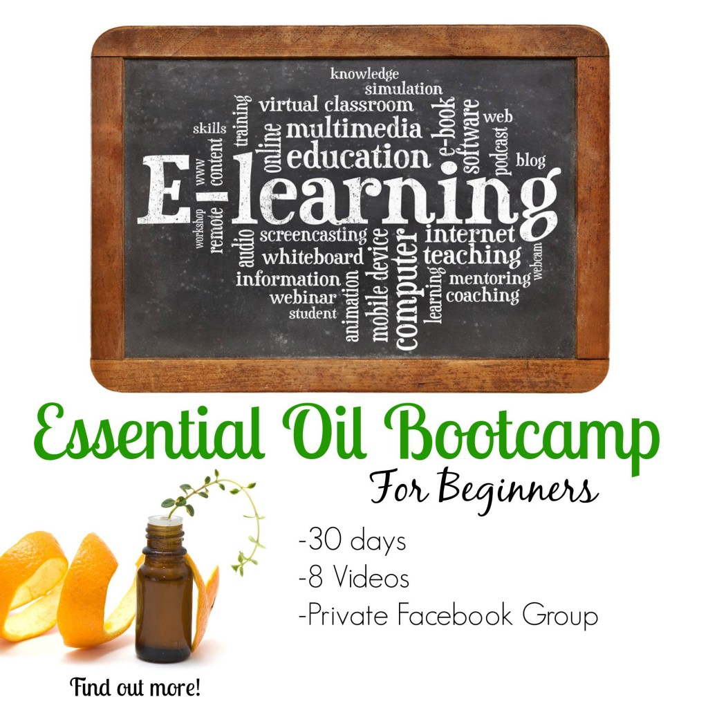 essential oil boot camp