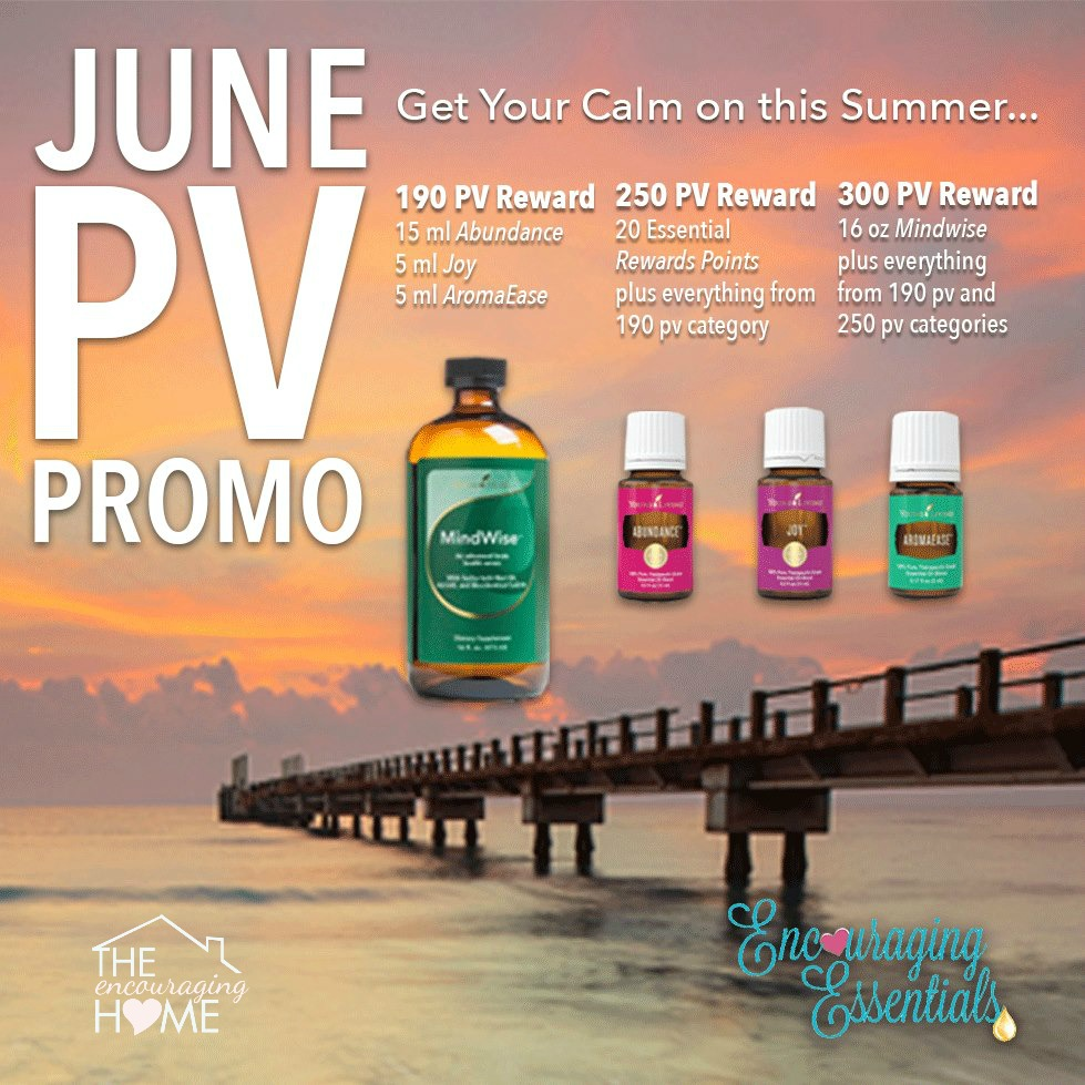 Young Living June Freebies